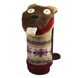 Cate and Levi Beaver Hand Puppet