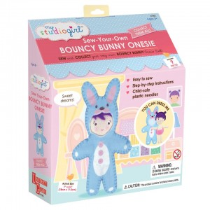 My Studio Girl Sew-Your-Own Bouncy Bunny Outfit