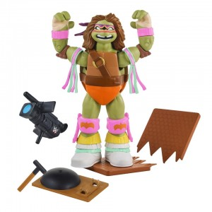 Teenage Mutant Ninja Turtles Series 2 Ninja Superstars 6 inch Action Figure - Donatello as the Ultimate Warrior