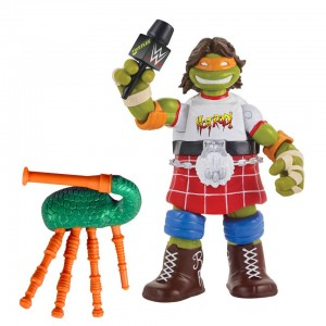Teenage Mutant Ninja Turtles Series 2 Ninja Superstars 6 inch Action Figure - Michelangelo as