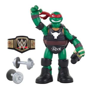 Teenage Mutant Ninja Turtles Series 2 Ninja Superstars 6 inch Action Figure - Raphael as The Rock