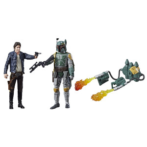 Star Wars 3.75 inch Action Figures - Han Solo and Boba Fett