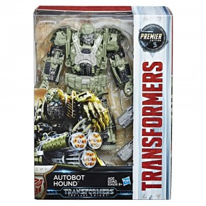 Transformers: The Last Knight Premier Edition Voyager Class Action Figure - Autobot Hound