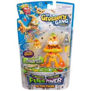 The Grossery Gang Series 3 Putrid Powder Action Figure - Putrid Pizza