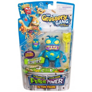 The Grossery Gang Series 3 Putrid Power Action Figure - Blow Fly