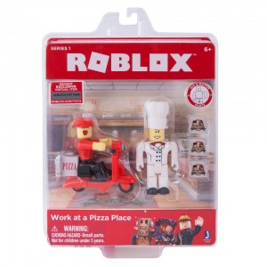 Roblox Series 1 Action Figure - Work at a Pizza