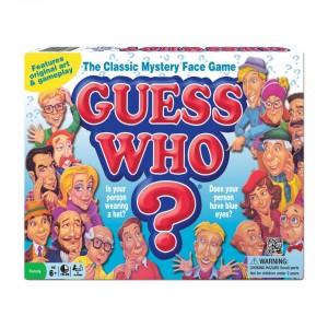 Guess Who? Classic Mystery Face Game