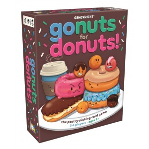 Gamewright Gonuts for Donuts! Card Game