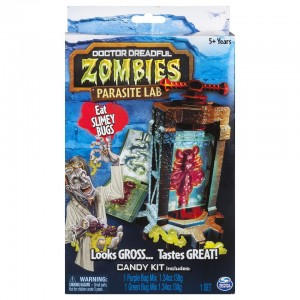 Doctor Dreadful Zombies Parasite Lab with Gummy Candy Kit