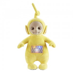 Teletubbies 10 inch Lullaby Laa-Laa Musical Night-Light Soft Toy