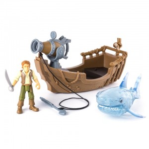 Pirates of the Caribbean: Dead Men Tell No Tales Ghost Shark Attack Set