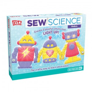 Smart Lab Toys Sew Science Globots DIY Electronics Kit