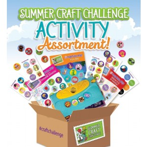 Summer Craft Challenge Activity Assortment! Craft Kit
