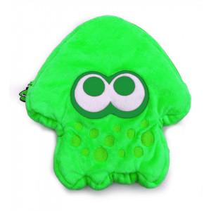 Splatoon 2 Squid Stuffed Pouch for Nintendo Switch - Green