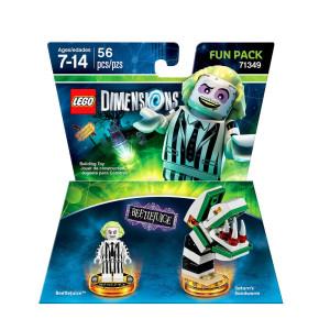 LEGO Dimensions DC Comics Beetlejuice Fun Pack - Beetlejuice and Saturn's Sandworm