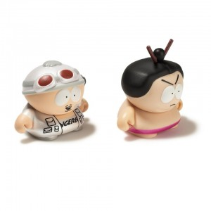 Kidrobot South Park: The Many Faces of Cartman 3 inch Mini Vinyl Figure - Fingerbang and Sumo