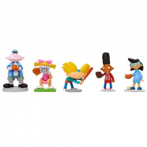Nick 90s Hey Arnold! 3 inch Action Figure Set