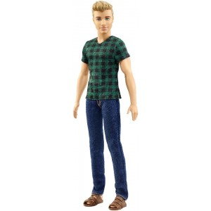 Barbie Fashionistas with Checked Style Fashion Doll - Ken