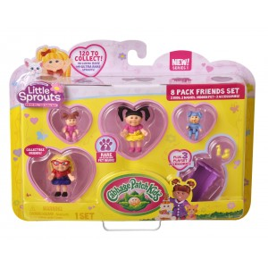 Cabbage Patch Kids Little Sprouts Friends Set - 8-Pack (Color/Style May Vary)