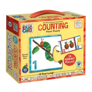 The Very Hungry Caterpillar Counting Floor Puzzle: 26 Pieces