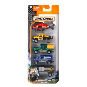 Matchbox Cars 5-Pack (Color/Styles May Vary)