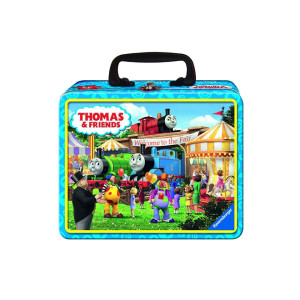 Thomas & Friends Fair Bound Puzzle in a Lunch Box Tin - 35-Piece