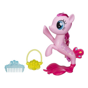 My Little Pony The Movie Pinkie Pie Glitter and Style Sea Pony Playset