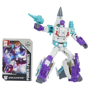 Transformers: Generations Power of The Primes Deluxe Class 5.5 inch Action Figure - Dreadwind