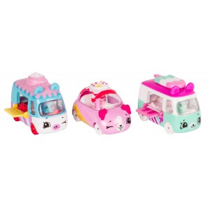 Shopkins Series 1 Cutie Cars 3-Pack - Freezy Riders