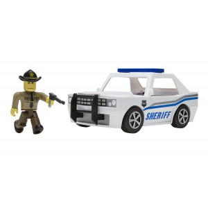 Roblox Neighborhood of Robloxia Action Figure with Patrol Car