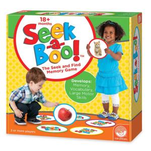 MindWare Seek-a-Boo Memory Game