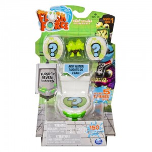 Flush Force Series 1 Filthy Set with 5 Collectible Flushies