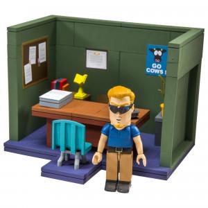 McFarlane Toys South Park Series 1 Small Construction Set - Principal's Office