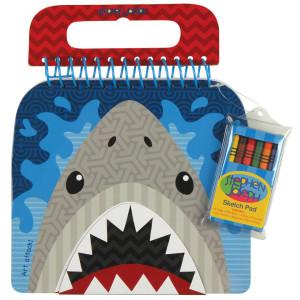 Stephen Joseph Shaped Sketch Pad - Shark