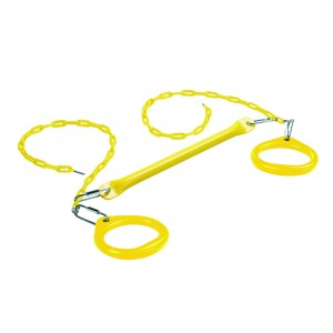 Circular Rings and Trapeze Bar - Yellow