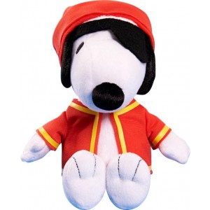 Just Play Peanuts 4.5 inch Mini Stuffed Snoopy Pirate - White
