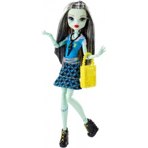 Monster High Daughter of Frankenstein Doll - Frankie Stein