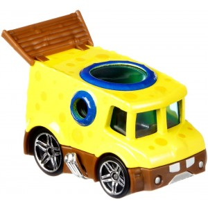 Hot Wheels SpongeBob SquarePants 1:64 Scale Character Car - SpongeBob
