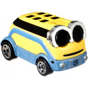 Hot Wheels Despicable Me 1:64 Scale Character Car - Minion Dave
