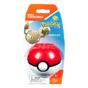 Mega Construx Pokemon Action Figure - Geodude