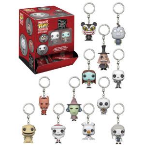 Funko Pocket POP! Keychain: Nightmare Before Christmas 1.5 inch Mini Keychains Blind Bag