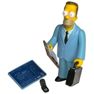 Simpsons All Star Voices 1 Herb Powell Action Figure