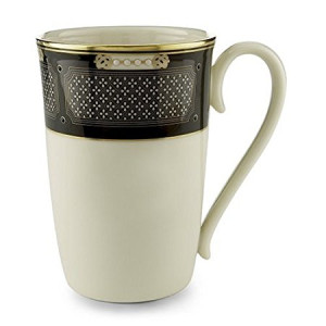 Lenox Hancock Gold Banded Ivory China Accent Mug
