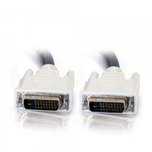 C2G/Cables to Go 5m DVI-D Dual Link Cable - Digital Video Cable Male to Male (16.4ft)
