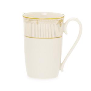 Lenox Republic Gold Banded Ivory China Accent Mug