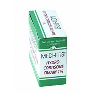 Medique Products 21173 Hydrocortisone Cream, 25 Packets Per Box