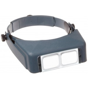 Donegan OptiVisor with Lens LX-3, 1 3/4 x 14
