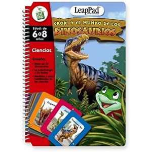 LeapFrog LeapPad Book: Croki y el mundo de los dinosaurios con cartas interactivas (Leap and the Lost Dinosaur) Spanish Software