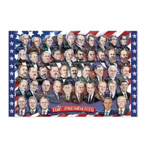 Melissa and Doug Presidents of the USA Floor Puzzle (100 pcs)