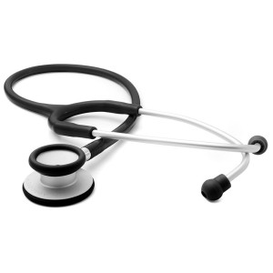 "ADC Adscope-Lite 609 Ultra Lightweight Clinician Stethoscope, 31""  Length, Black"